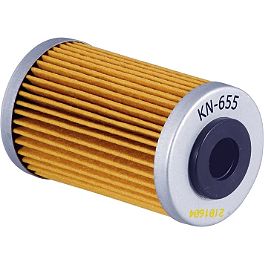 K&N Cartridge Oil Filter - 2013 KTM 450SXF No Toil Pre-Oiled Dual Stage Air Filter