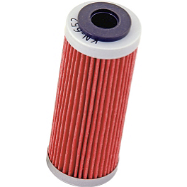 K&N Cartridge Oil Filter - 2007 KTM 450SXF STI Ultra Heavy Duty Tube - 110-120/90-19