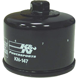 K&N Spin-on Oil Filter - 2002 Yamaha RAPTOR 660 K&N Air Filter