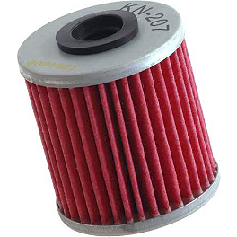 K&N Cartridge Oil Filter - 2010 Suzuki RMZ450 No Toil Pre-Oiled Dual Stage Air Filter
