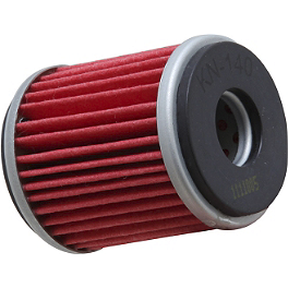 K&N Cartridge Oil Filter - 2009 Yamaha WR250X (SUPERMOTO) No Toil Super Flow Replacement Air Filter