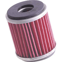 K&N Cartridge Oil Filter - 2005 Yamaha YFZ450 K&N Air Filter