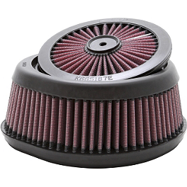 K&N X-Stream Air Filter - 2007 Suzuki RMZ450 Turner Billet Air Filter Bolt - Blue