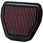 K&N X-Stream Air Filter - K&N Dirt Bike Intake
