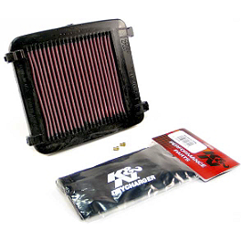 K&N Xtream Power Lid - 2009 Suzuki LTZ400 K&N Air Filter