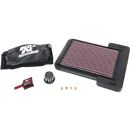 K&N Xtream Power Lid - 2001 Yamaha RAPTOR 660 FMF Power Up Jet Kit