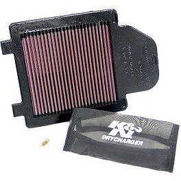 K&N Xtream Power Lid - 2004 Yamaha YFZ450 K&N Air Filter
