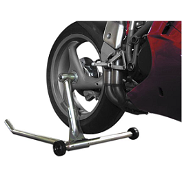 K&L MC35 Single Sided Swingarm Stand - 2005 Triumph Daytona 955i Powerstands Racing Front Stand Pin
