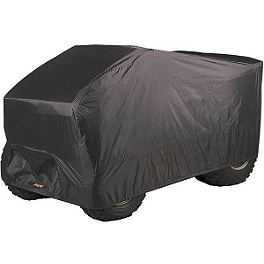 Kolpin ATV Cover - Black - 1993 Honda TRX90 Maxxis RAZR Blade Sand Paddle Tire - 20x11-10 - Right Rear