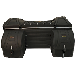 Kolpin Deluxe Cargo Bag Rear - Kolpin Gun Boot 5.0 Polypropylene Hard Case