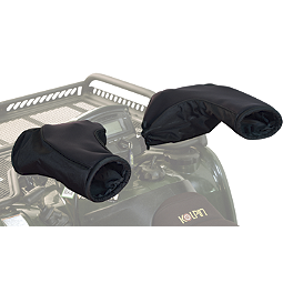 Kolpin Geartector ATV Mitt - Black - Kolpin In Bed Double Gun Boot Mount - Wide