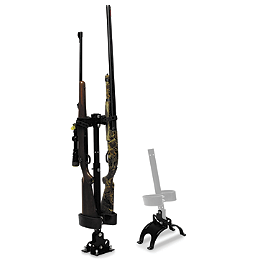 Kolpin UTV Gun Rack With Riser Plate Combo - NRA By Moose UTV Quick Draw Combo