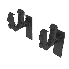 Kolpin Rhino Grip Wall Mount - Kolpin Handguards With Mirror