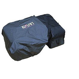 Kolpin ATV Luggage Rain Cover - Kolpin Stealth Exhaust 2.0 - Stainless Steel