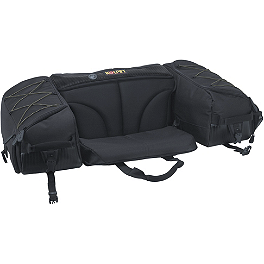 Kolpin Matrix Seat Bag - Black - Moose Ozark Rear Rack Bag - Black