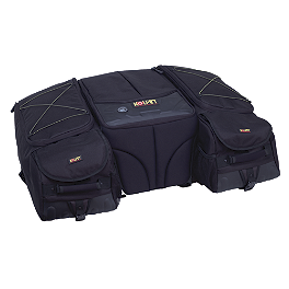 Kolpin Matrix Deluxe Contoured Cargo Bag - Moose Bighorn Rear Rack Bag - Black