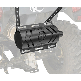 Kolpin Stealth Exhaust 2.0 - Black - Kolpin Stealth Exhaust 2.0 - Stainless Steel
