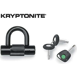 Kryptonite Evo Lock-Series 4 - Bully Chrome Disc Lock - 10mm