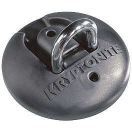 Kryptonite Stronghold W/Anchor - Ancra Removable Tie Down Anchor