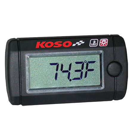 Koso LCD Temperature Gauge - Main