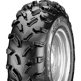 Kenda Bounty Hunter ST Radial Rear Tire - 25x10-12 - 1998 Yamaha KODIAK 400 4X4 Kenda Bearclaw Front Tire - 25x8-12