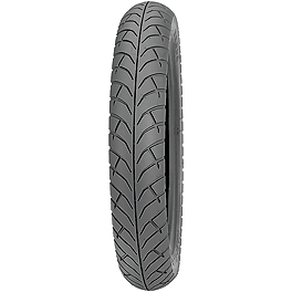 Kenda K671 Cruiser ST Front Tire 100/90-16 - Baron Custom Accessories Cable Hose And Wire Dress Up Kit - Carbon Fiber