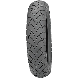 Kenda K671 Cruiser ST Rear Tire 130/90-15 - Pirelli MT66 Route Front Tire - 3.00-18S