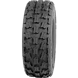 Kenda Dominator Sport Front Tire - 21x7-10 - 1985 Suzuki LT250R QUADRACER Kenda Speed Racer Rear Tire - 18x10-10
