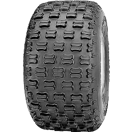 Kenda Dominator Sport Rear Tire - 22x11-9 - 2007 Can-Am DS650X Kenda Pathfinder Front Tire - 18x7-7