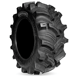 Kenda Executioner ATV Tire - 25x8-12 - 2008 Yamaha GRIZZLY 350 4X4 IRS Moose 393X Front Wheel - 12X7 4B+3N Black