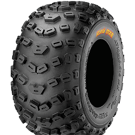 Kenda Klaw XC Rear Tire - 22x11-9 - 2003 Yamaha WARRIOR Kenda Pathfinder Front Tire - 18x7-7