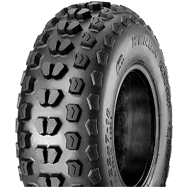 Kenda Klaw XC Front Tire - 23x7-10 - 2008 Honda TRX450R (ELECTRIC START) Kenda Pathfinder Rear Tire - 25x12-9