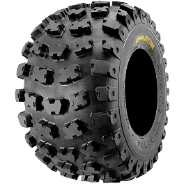 Kenda Kutter XC Rear Tire - 20x11-9 - 2004 Polaris PREDATOR 50 Kenda Speed Racer Front Tire - 21x7-10