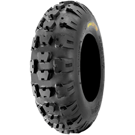 Kenda Kutter XC Front Tire - 21x7-10 - 1989 Suzuki LT250R QUADRACER Kenda Speed Racer Rear Tire - 18x10-10