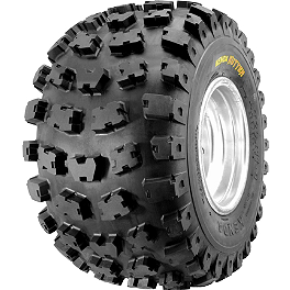 Kenda Kutter XC Rear Tire - 22x9-11 - 2000 Polaris TRAIL BOSS 325 Kenda Bearclaw Front Tire - 25x8-12
