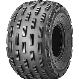 Kenda Max A/T Front Tire - 21x7-10 - 2011 Polaris OUTLAW 50 Kenda Speed Racer Rear Tire - 18x10-10