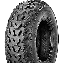 Kenda Pathfinder Front Tire - 19x7-8 - 2008 Suzuki LTZ400 Kenda Speed Racer Rear Tire - 18x10-10