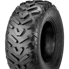 Kenda Pathfinder Rear Tire - 25x12-10 - 2013 Yamaha GRIZZLY 700 4X4 POWER STEERING Kenda Bearclaw Front Tire - 25x8-12