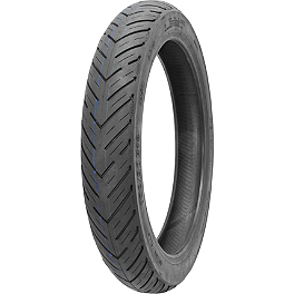Kenda K676 Retroactive Front Tire - 100/90-18 - Continental Ultra TKV12 Rear Tire - 130/90-16V
