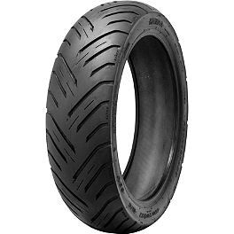 Kenda K676 Retroactive Rear Tire - 140/80-17 - Kenda K657 Challenger Front Tire 130/90-16