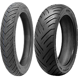 Kenda K676 Retroactive Tire Combo - Kenda K671 Cruiser ST Rear Tire 130/90-15