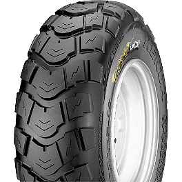 Kenda Road Go Front / Rear Tire - 18x9.5-8 - 2005 Honda TRX450R (KICK START) Kenda Kutter XC Rear Tire - 20x11-9