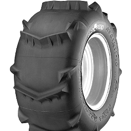 Kenda Sand Gecko Plus Rear Tire - 21x11-10 - 2009 Polaris TRAIL BLAZER 330 Kenda Kutter MX Front Tire - 20x6-10