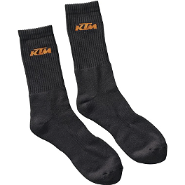 KTM Powerwear Casual Sock Pack - 2013 KTM Powerwear Deflector Gloves