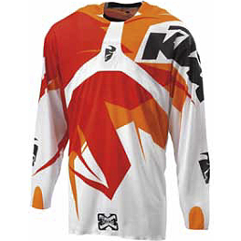 2013 KTM Powerwear Flux Jersey - 2013 KTM Powerwear Deflector Gloves