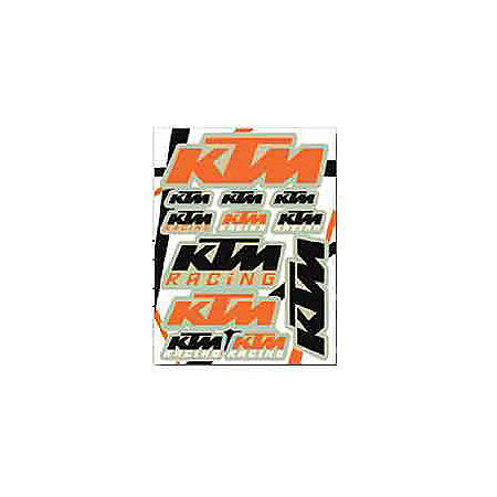 KTM Powerwear KTM Sticker Sheet - Main