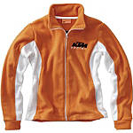 KTM Powerwear Women's Team Fleece - KTM OEM Parts Dirt Bike Womens Casual