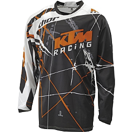 2013 KTM Powerwear Youth Phase Jersey - KTM Powerwear Spy Targa Mini Goggles