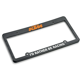 KTM OEM Parts Auto License Plate Frame - KTM OEM Parts Racing Umbrella