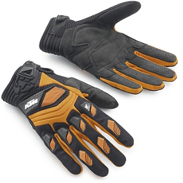 2014 KTM Powerwear Deflector Gloves - 2014 KTM Powerwear Hydroteq Off-Road Gloves